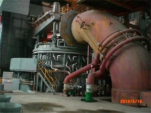 steel making by electric arc furnace - CHNZBTECH.JPG